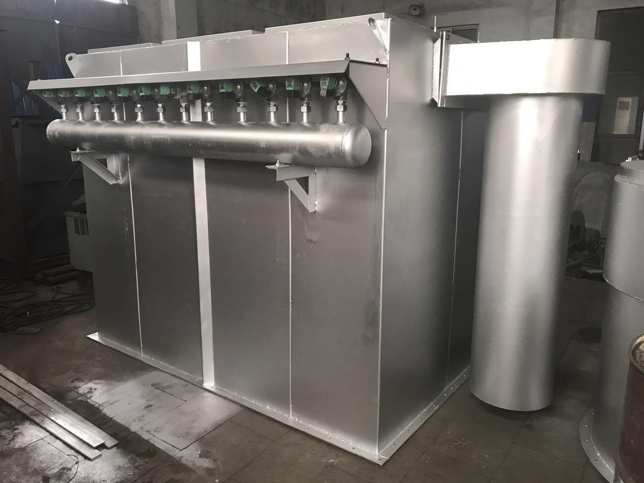 dmc脉冲袋式除尘器_不锈钢脉冲袋式除尘器_诺和除尘器